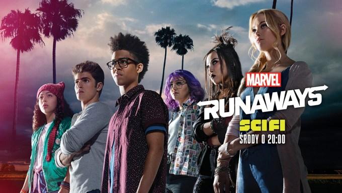 """""""Runaways""""– serial na podstawie komiksu wydawnictwa Marvel Comics na SCI FI"""