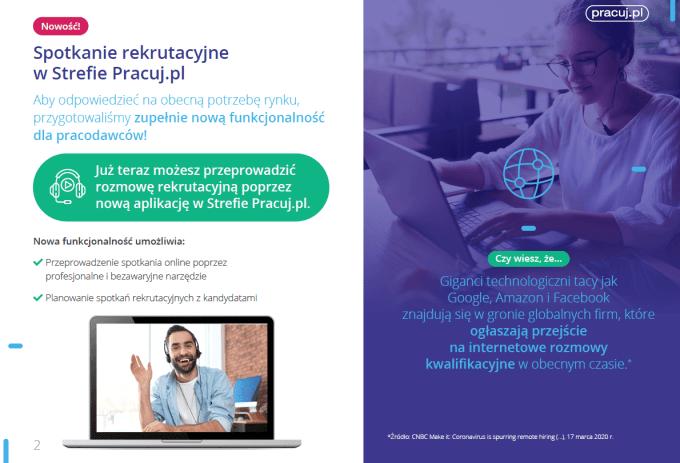 Spotkania rekrutacyjne w strefie Pracuj.pl