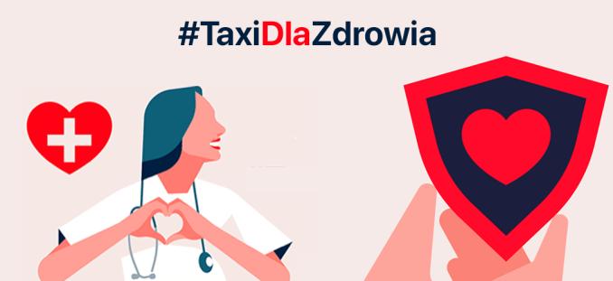 FREE NOW: akcja #TaxiDlaZdrowia