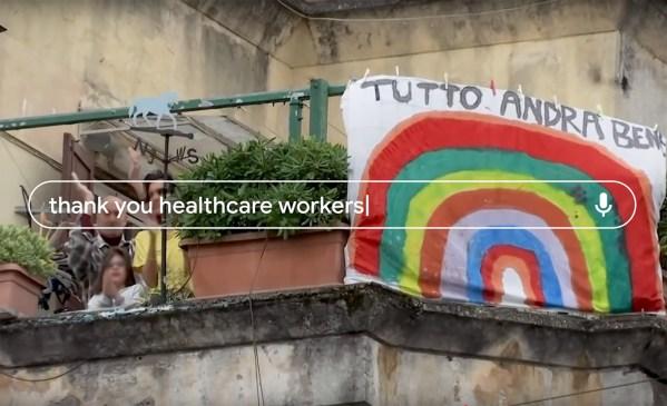 W nowym wideo Google dziękuje pracownikom służby zdrowia