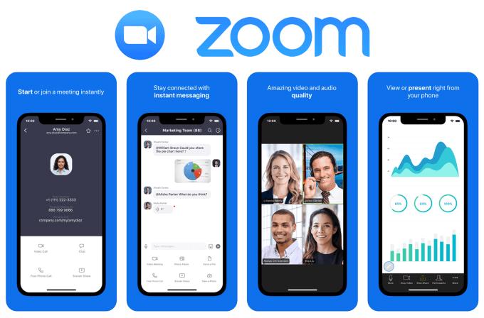 """Aplikacja mobilna """"Zoom Cloud Meetings"""""""