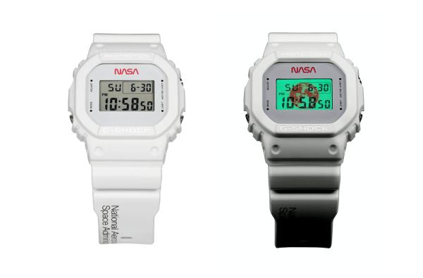 Zegarek Casio G-Shock z motywem NASA