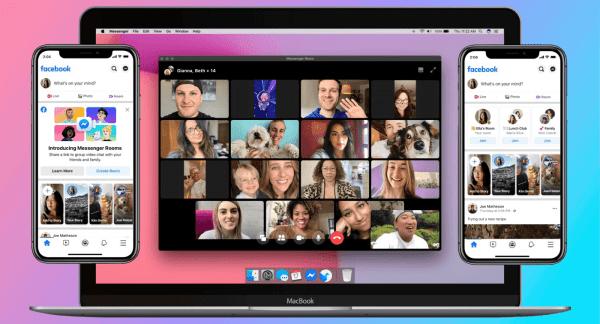 """""""Messenger Rooms"""" czyli pokoje do wideorozmów grupowych od Facebooka"""