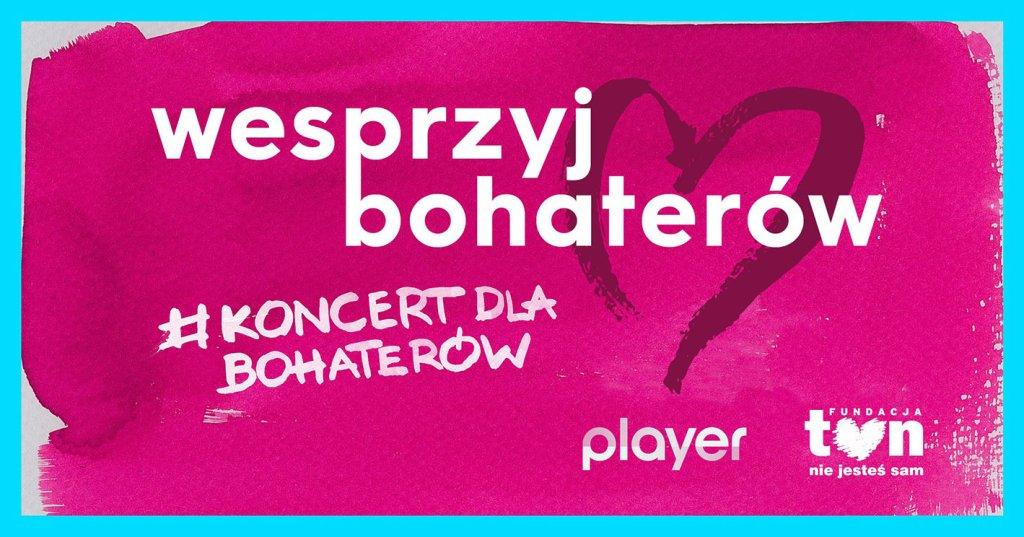 #KoncertDlaBohaterów – Dla Bohaterów! Zadbajmy o życie i zdrowie pracowników służb medycznych