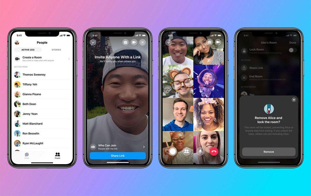 Facebook Messenger Rooms (Mobile)