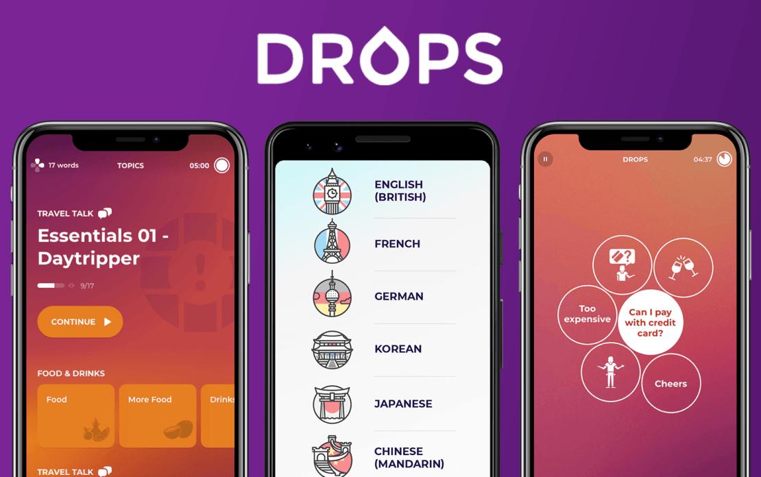 Drops – wizualna nauka języków obcych przez zabawę