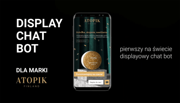 Display Chat Bot to pierwszy na świecie displayowy chatbot
