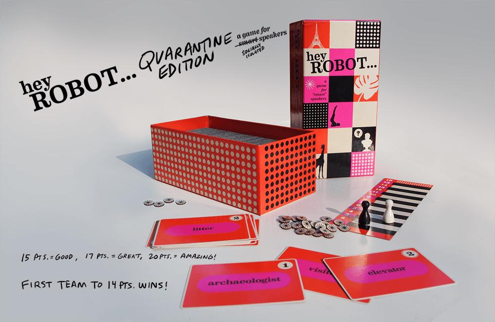 Cyfrowa wersja gry Hey Robot Quarantine Edition!