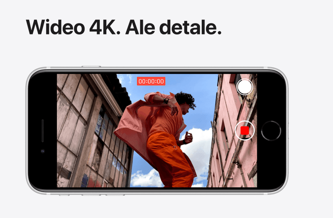 iPhone SE 2 z obsługą 4K