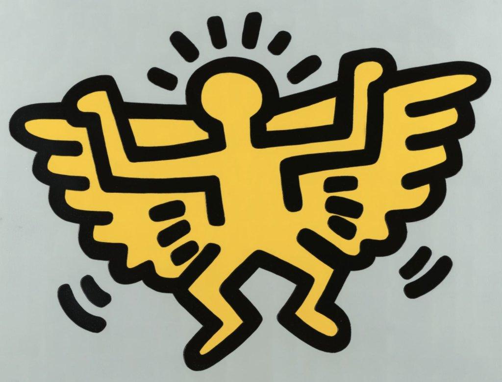 Jasnożółty anioł Google Arts and Culture