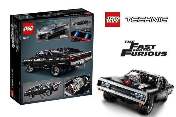 Dom's Dodge Charger z LEGO już od 27 kwietnia!