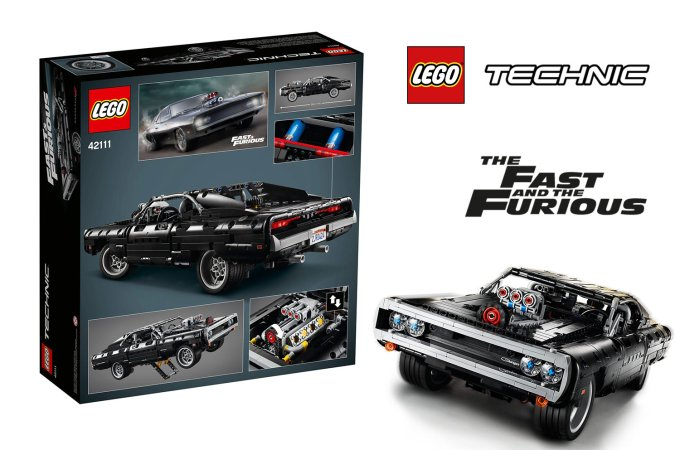 LEGO Technic Dom's Dodge Charger (The Fast and the Furious)