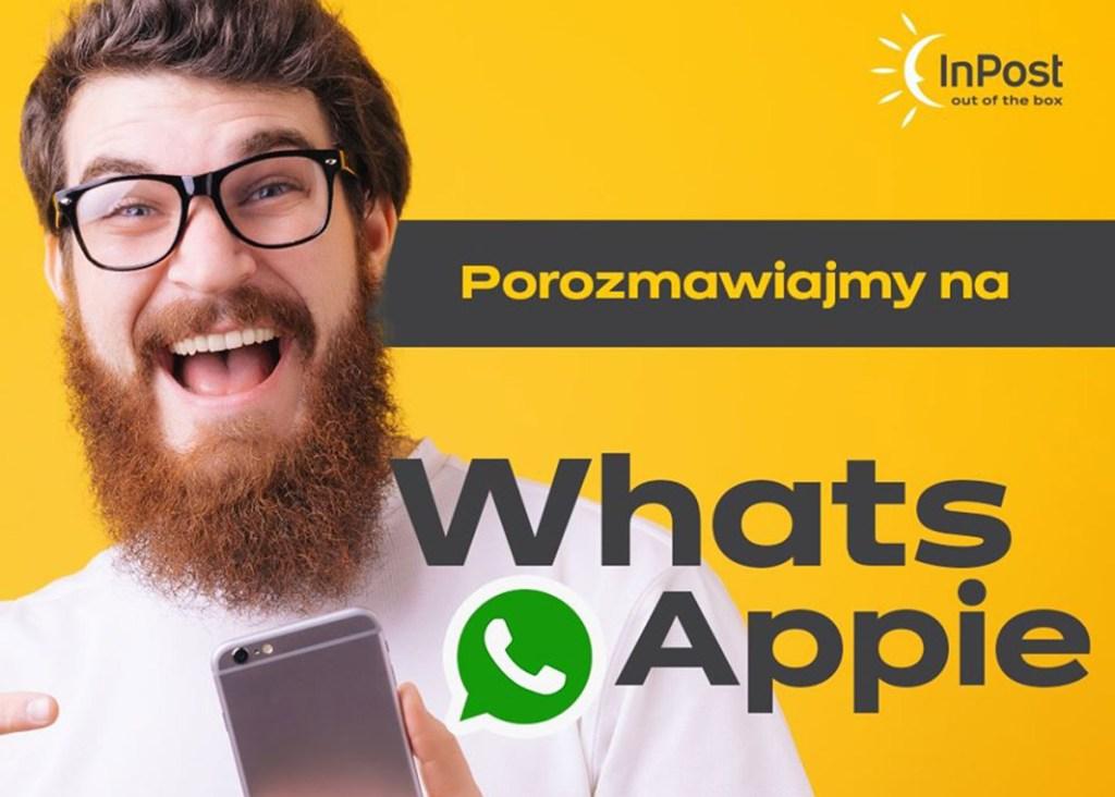 Chatbot InPost (Paczkomaty) w aplikacji WhatsApp