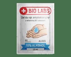 Płyn antybakteryjny w saszetkach po 1,5 ml