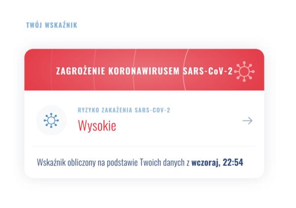 POLCOVID-19 to polska aplikacja z mapą ryzyka zakażenia koronawirusem
