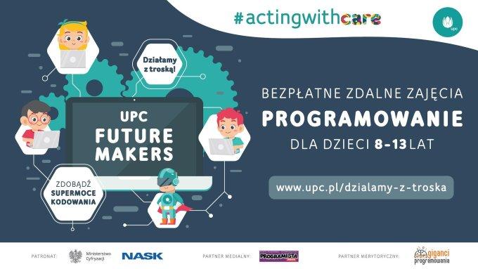 Zajęcia online z programowania dla dzieci od UPC