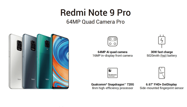 Redmi Note 9 i Note 9 Pro już oficjalnie!