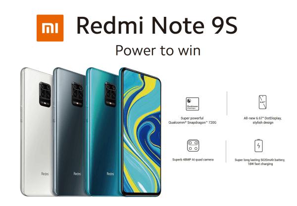 Redmi Note 9S od 7 maja w Polsce!