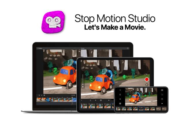 "Aplikacja mobilna ""Stop Motion Studio"""