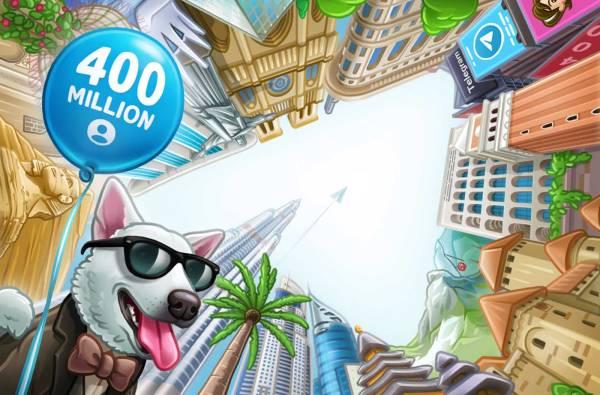 Telegram ma już 400 mln aktywnych użytkowników!