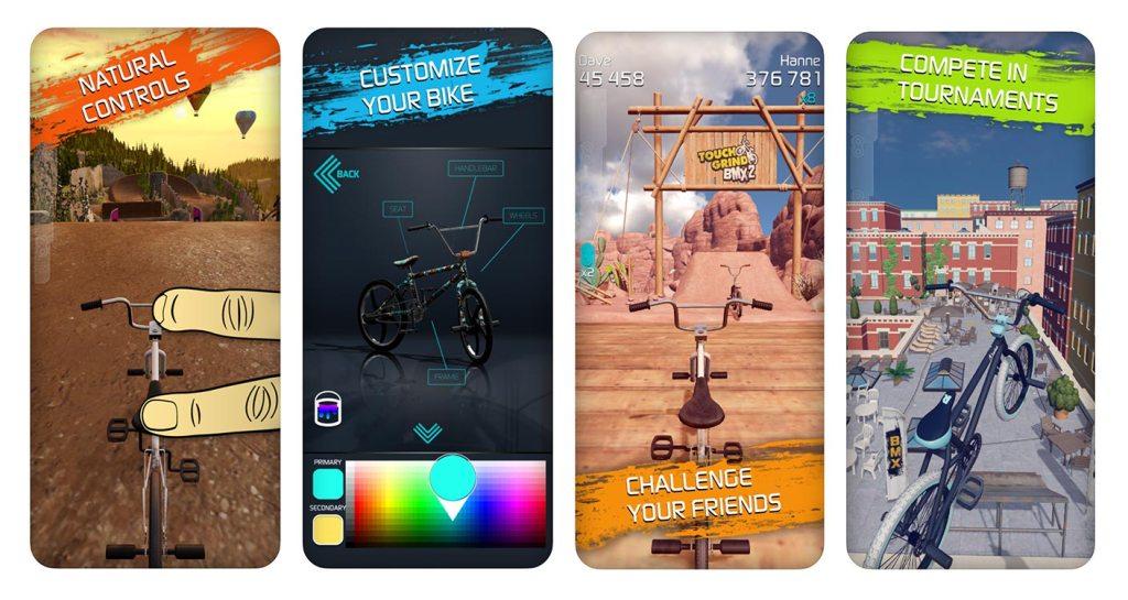 TouchGrind BMX 2 - zrzuty ekranu z gry