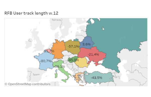 Jak izolacja w trakcie pandemii COVID-19 wpłynęła na mobilność mieszkańców Europy?