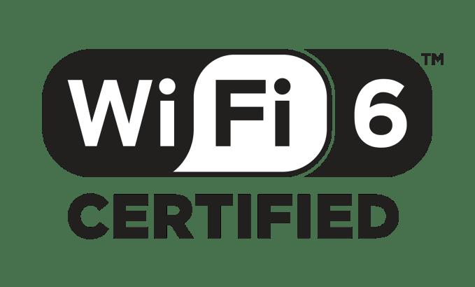 Wi-Fi 6 CERTIFIED - logo przezroczyste PNG