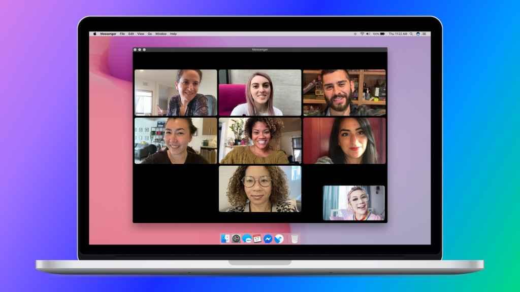 Wideorozmowy na Messengerze na komputerach z macOS i Windowsem