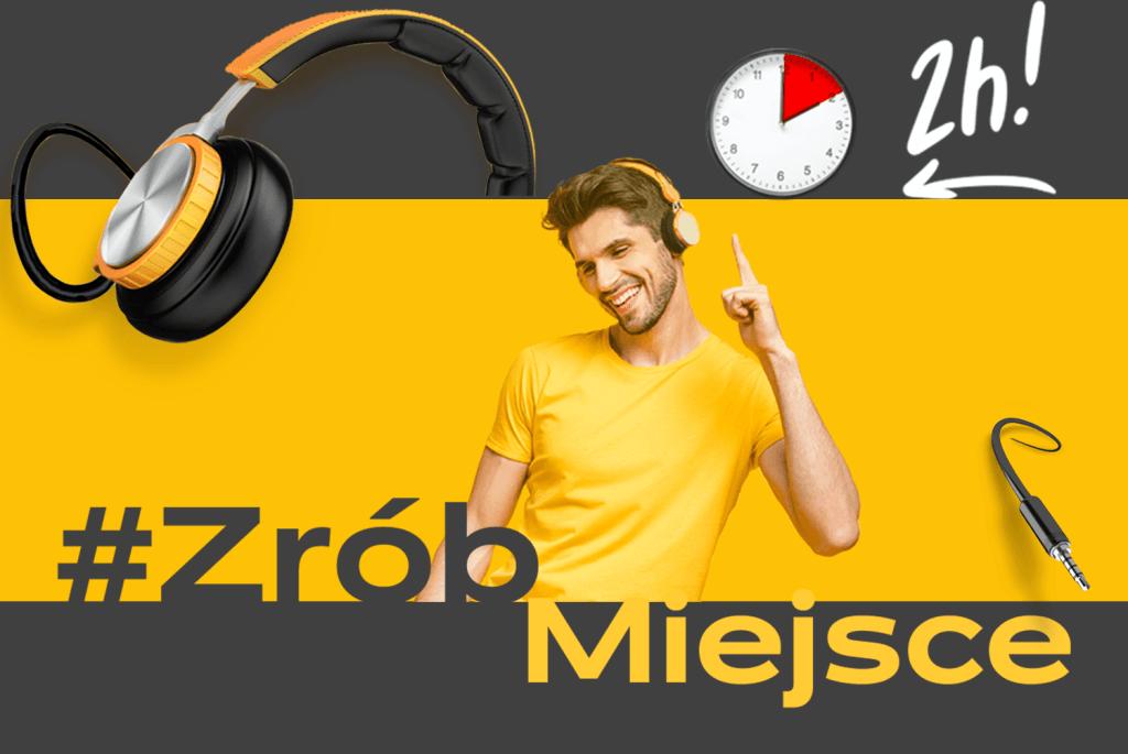 #ZróbMiejsce w paczkomacie i słuchaj audiobooków!