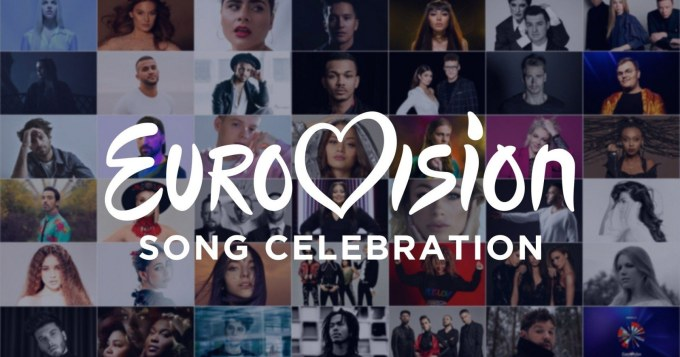 Eurovision Song Celebration 2020 online na YouTubie