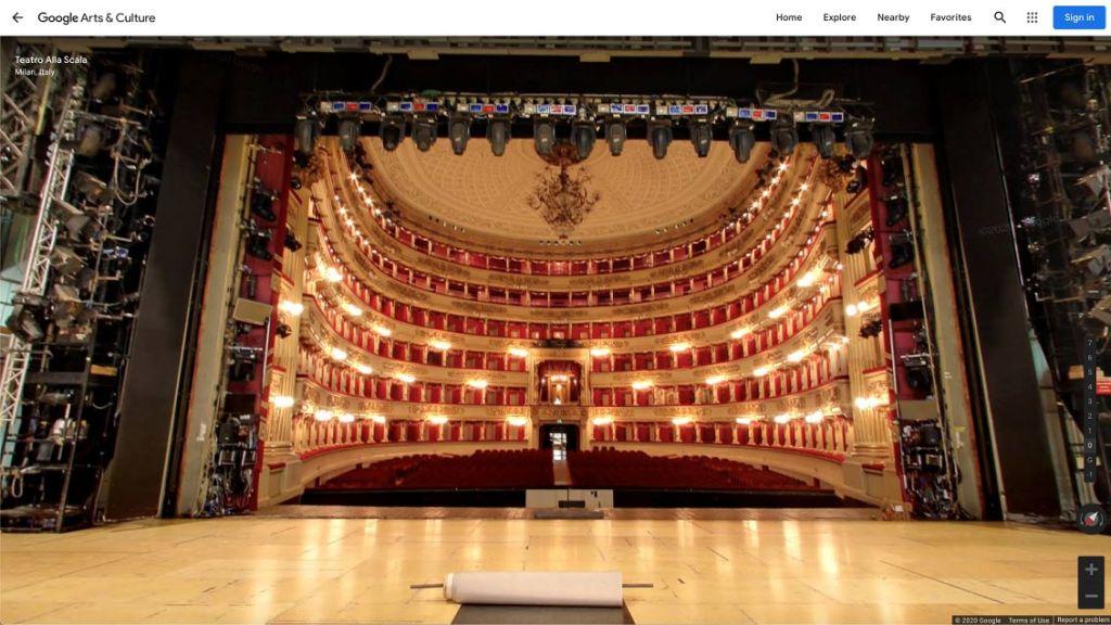La Scala Google Arts & Culture