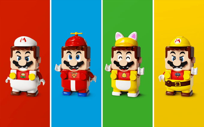 NEW LEGO Super Mario Power-Up Packs!