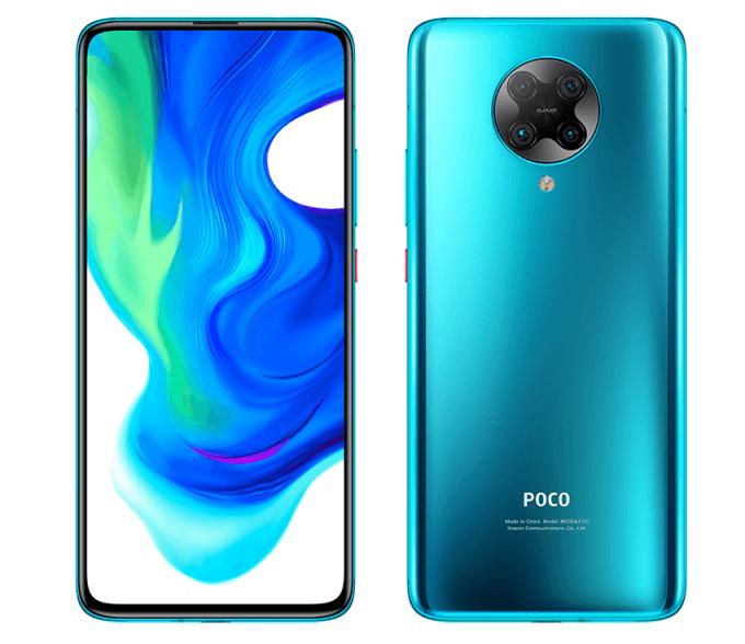 POCO F2 Pro – smartfon Xiaomi w kolorze seledynowym