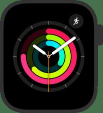 Pierścienie aktywności w zegarku Apple Watch