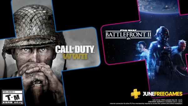 """""""Star Wars Battlefront II"""" i """"Call of Duty: WWII"""" to darmowe gry PS Plus na czerwiec!"""