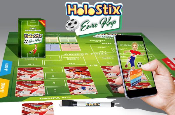 """""""Holostix"""" to hybrydowa gra planszowa w rozszerzonej rzeczywistości"""