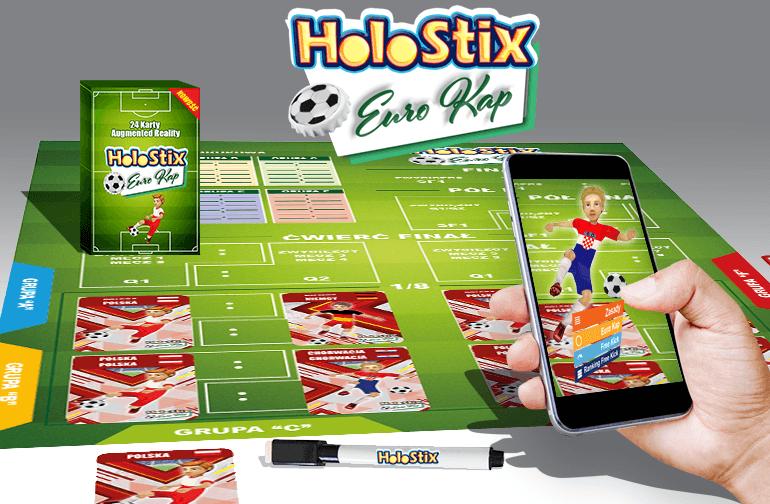 HoloStix Euro Kap - mobilna gra w kapsle w Augmented Reality (AR)