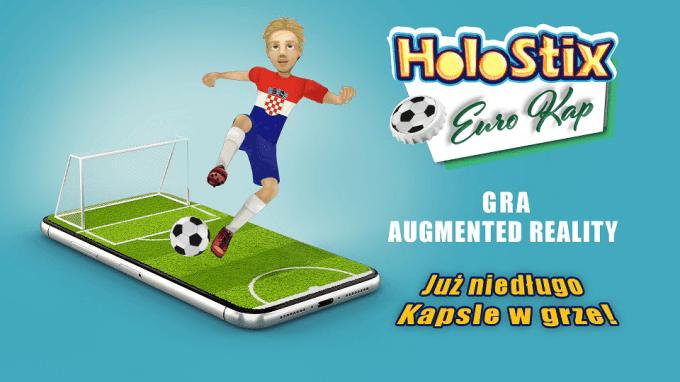 HoloStix Euro Kap - mobilna gra w kapsle w rozszerzonej rzeczywistości