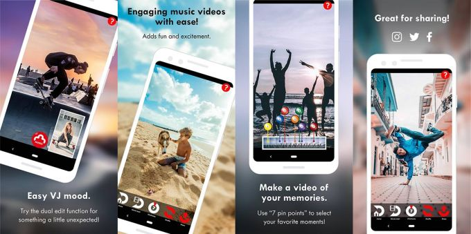 mbeat/Make your videos dance to the rhythm!