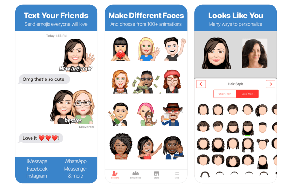Zamień swój portret w Emoji