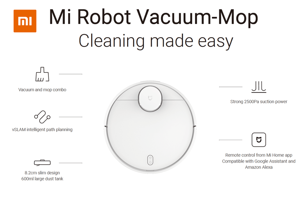 Mi Robot Vacuum-Mop (Xiaomi)