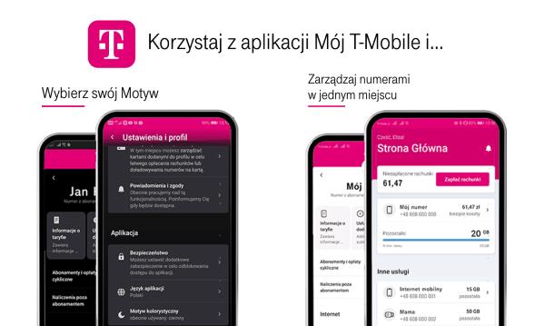 """Nowa odsłona aplikacji """"Mój T-Mobile"""" już dostępna!"""