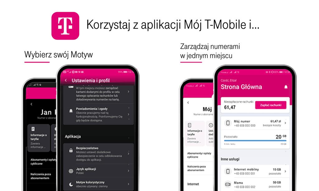 """Nowa wersja aplikacji """"Mój T-Mobile"""" (maj 2020)"""