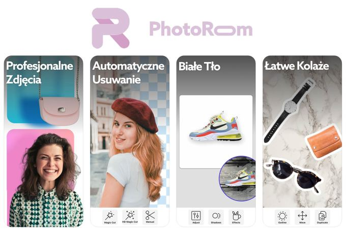 Aplikacja mobilna PhotoRoom - Make Studio Photo