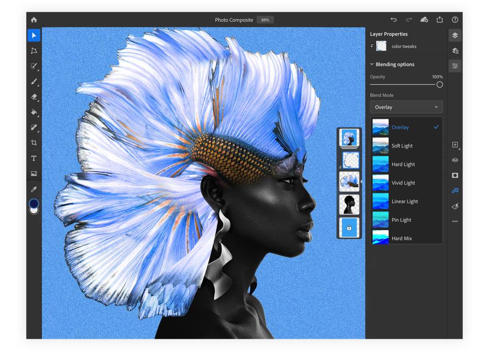 Photoshop na iPada