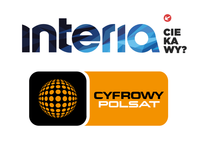 Polsat kupuje Interię (logo)