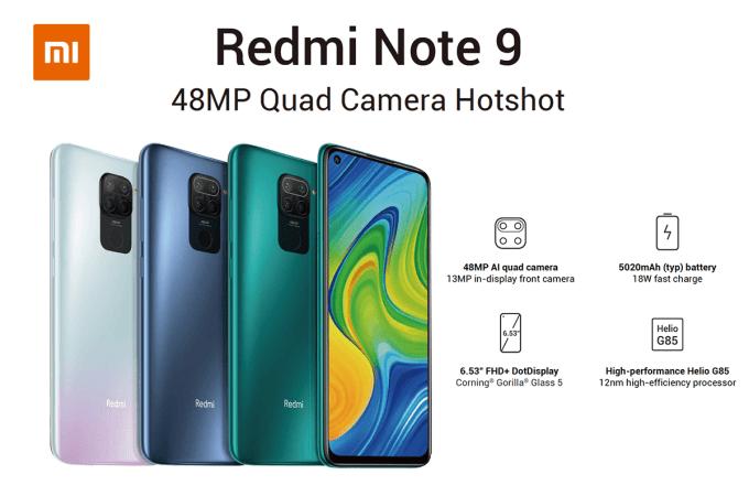Redmi Note 9 (Xiaomi)
