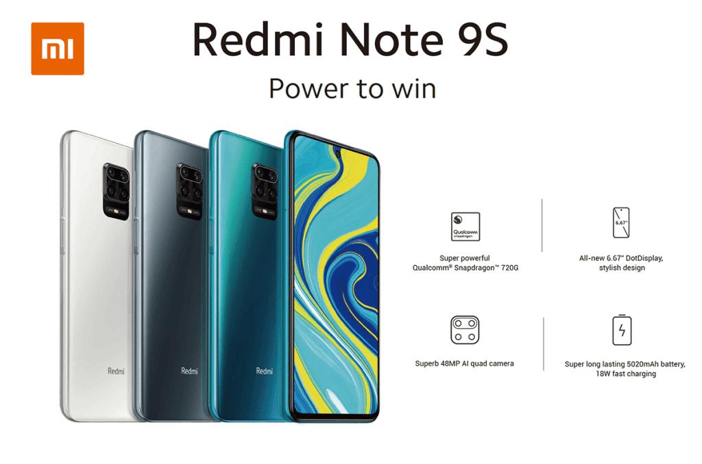 Redmi Note 9 s (Xiaomi)