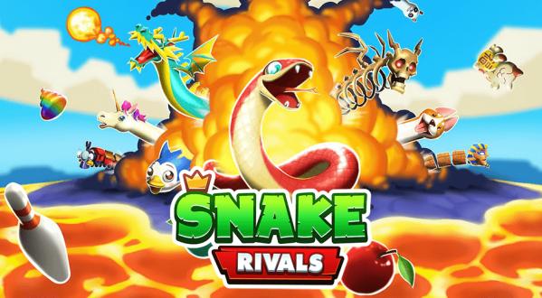 """Nowoczesna gra w węża w """"Snake Rivals"""""""