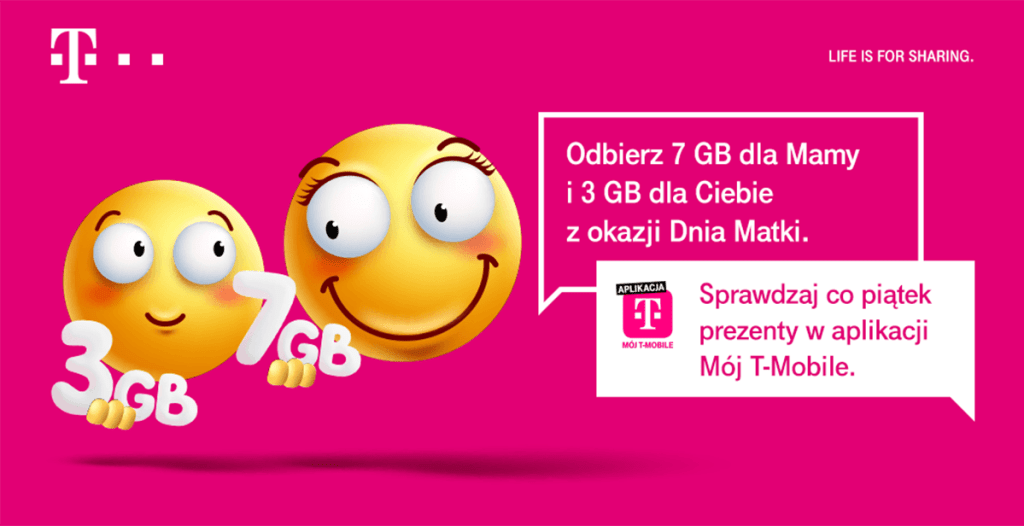T-Mobile - prezent na Dzień Matki (2020)